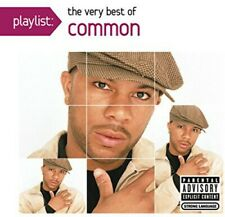 Playlist: The Very Best Of Common - Common (2014, CD NUOVO) Explicit Version