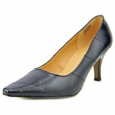 Karen Scott Womens Clancy Leather Pointed Toe Classic Pumps