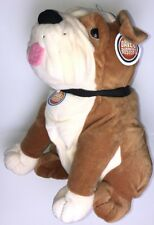 "Large Dave & Buster's BULLDOG 18"" Plush Stuffed Animal, NEW NWT"