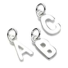 Ciondoli con Lettera A-Z in Argento Sterling / charms lettere d'argento / Charms