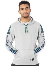 Felpa con Cappuccio Adidas Quarzo Medium Grigio Heather