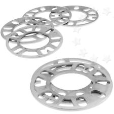 UNIVERSAL 2/4 Pieces 5MM ALLOY WHEEL SPACERS SHIMS SPACER 4 AND 5 STUD FIT
