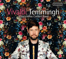 Concertos For Recorder & Preludes - Vivaldi / Temmingh / Capric (2018, CD NUOVO)