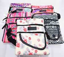 Polyester Pattern Small Women Ladies Teen Quilted Flap Cross Body Shoulder Bag