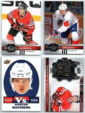 2017-18 UD CANADIAN TIRE TEAM CANADA - FINISH YOUR SET - Base / Heir / SP 1-160