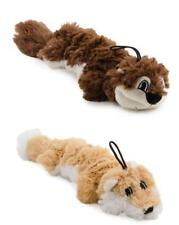 Ancol Rope Filled Fox Squirrel Small Dog Puppy Chew Toy