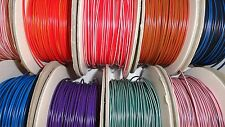 72 COLOURS IN STOCK - 100m ROLL of 12v 16.5A 1mm² Automotive thinwall cable