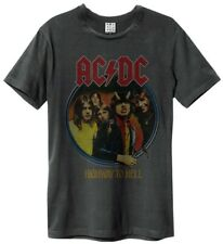 Amplified ACDC HIGHWAY TO CLARO Camiseta Carbón Camisa Para Hombres Talla S-XXL