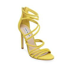 Steve Madden Womens Santi Leather Open Toe Special Occasion Strappy Sandals