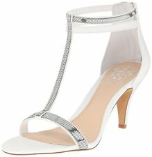 Vince Camuto Womens Makoto Open Toe Special Occasion T-Strap Sandals