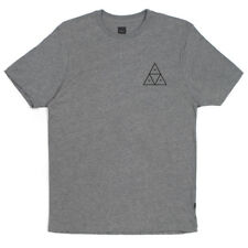 HUF TRIPLE TRIÁNGULO Camiseta Gris Heather Skate Camiseta Talla S-XL