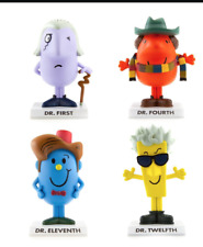Doctor Who Dr. First Dr Fourth Dr Eleventh Dr Twelfth Mr Men Figures Official