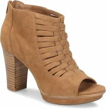 Sofft Womens Renita Suede Open Toe Casual Strappy Sandals