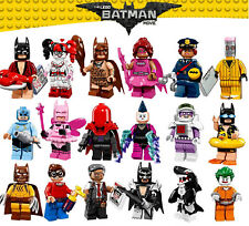LEGO Batman Movie Mini Figures Joker Fairy Eraser Zodiac King Tut Free Gift Bag
