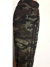 Leggings da donne,leggings da donne caldo,legging camouflage annegamento marrone
