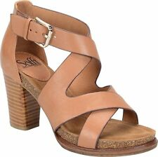 Sofft Womens Canita Leather Open Toe Casual Strappy Sandals