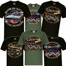 Charger Muscle Car, US Car V8, Dodge, 1968 bis modern US Car T-Shirts, Hot Rod
