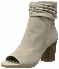 Kenneth Cole Reaction Womens FRIDA COOL Leather Peep Toe Ankle Fashion Boots