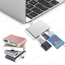 USB 3.1 Type C to USB 2.0 OTG HUB SD Micro SD Card Reader for MacBook Pro Phones