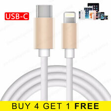 1M 2M USB-C Fast Charging Type C Lightning Charger Data USB C Cable for iPhone