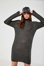 Jacqueline de Yong Womens Ladies Cowl Turtle Neck Jumper Dress Knitwear