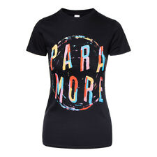 Official T Shirt PARAMORE Black PAINTING SPIRAL Band Tee All Sizes