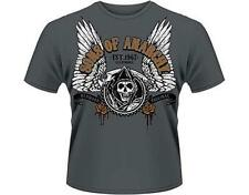 OFFICIAL LICENSED - Sons Of Anarchy - ailé FAUCHEUSE T SHIRT MOTARD SAMCRO JAX