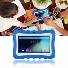 """Kids Childrens Android 7 """" 8GB Tablet PC Wireless Bluetooth Dual camera Games UK"""