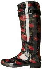 LAUREN by Ralph Lauren Womens Rossalyn Closed Toe Mid-Calf Rainboots