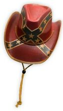 Cowboy Cappello General Lee PAESE WESTERN DI PAGLIA RIBELLE Hat CSA southstate