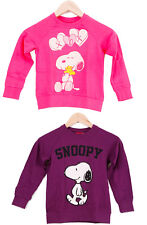 Snoopy PEANUTS Cartoon Happy Cute Kinder Sweat-Shirt