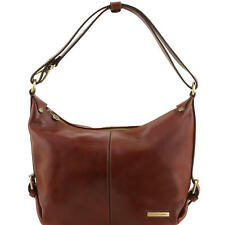 Tuscany Leather Sabrina Hobo Tote Shoulder Bag Choice Colours
