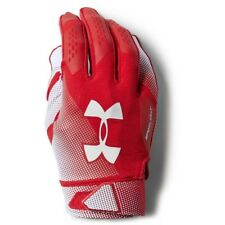 Under Armour - Guanti Football Spotlight NFL - Red/White