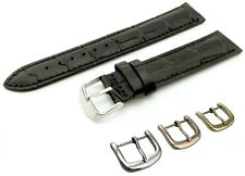 Brown Leather Strap Band for Tissot Watch with Buckle + Pins 18 19 20 21 22mm