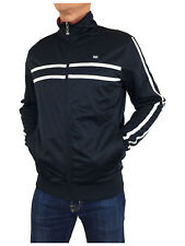 Weekend Offender SPSS1802 Kesey Retro Track Top in Navy