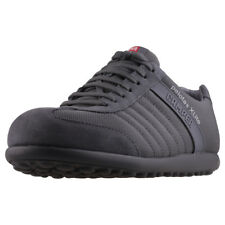 Camper Pelotas X Lite Mens Grey Suede & Nylon Casual Trainers Lace-up New Style