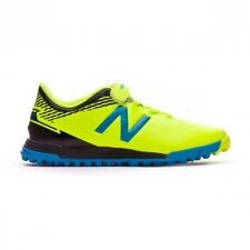 Scarpa da calcio New Balance Furon Dispatch Turf Velcro Junior Giallo-Blu