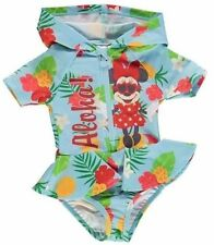 Disney Minnie Mouse 9-12 12-18 18-24  baby girls all in one swim suit Brand New