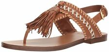 Vince Camuto Womens Rebeka Leather Open Toe Casual Slingback Sandals