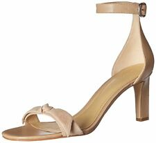 Marc Fisher Womens Dalli Leather Open Toe Casual Ankle Strap Sandals