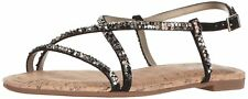 Circus by Sam Edelman Womens hilary Fabric Open Toe Casual Slingback Sandals