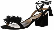 Adrienne Vittadini Womens Alen Leather Open Toe Casual Ankle Strap Sandals