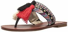 Circus by Sam Edelman Womens Brice Fabric Split Toe Casual Slide Sandals
