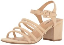 ZIGI SOHO Womens Gladys Fabric Open Toe Casual Ankle Strap Sandals