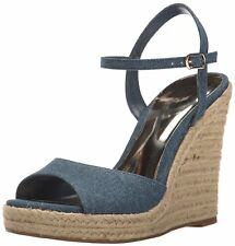 Carlos by Carlos Santana Womens Lillith Canvas Open Toe Casual Platform Sandals
