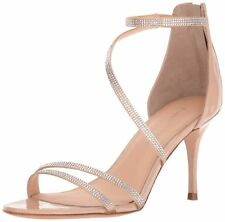 Ivanka Trump Womens Genese Leather Open Toe Special Occasion Strappy Sandals