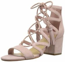 Marc Fisher Womens Rayz Suede Almond Toe Casual Strappy Sandals
