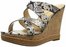Ivanka Trump Womens Habbie Leather Open Toe Casual Strappy Sandals
