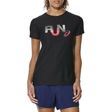 Asics Graphic SS Top Running Shirt fitnesshirt Womens Breathable