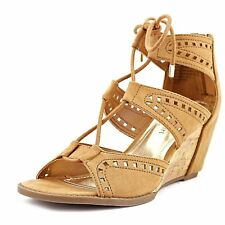 Madden Girl Womens rally Fabric Open Toe Casual Strappy Sandals